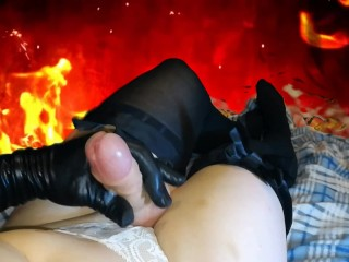 sissy crossdresser cums from pleasure ( t-girl ladyboy femboy ts trap )
