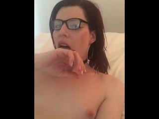 Hailey Holl - ts sucking on BBC jizz