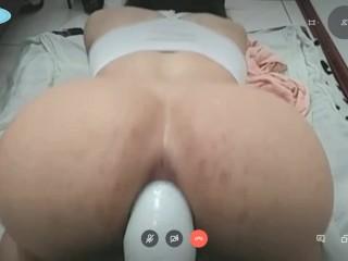 Amateur shemale anal dildo gape cam