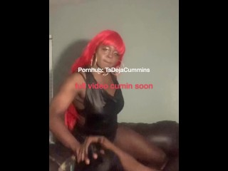 Two big dick DL bros turn two ebony shemale sisters into sum raw whores