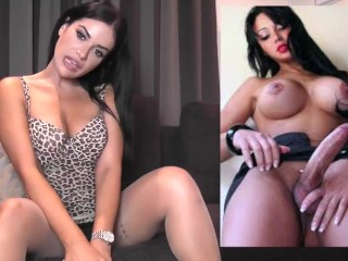 transsexual liking JOI