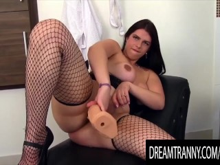 Dream t-girl - Shemales Mounting Dildos Compilation Part 13