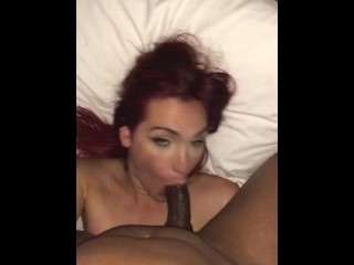 Sexi Redhead hispanic t-girl deep throat BBC Best transsexual bj