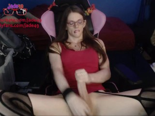 large cock tgirl large cumshot