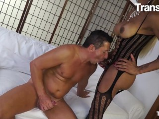 TransBella - Veronika Havenna humongous melons Brazilian tgirl Gets Her Tight behind sexed By Horny man