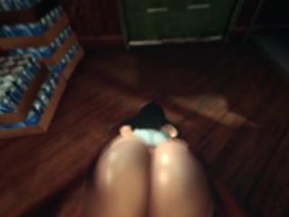 3D Animated Sex ladyboy fucks girl SFM