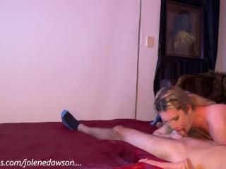 tranny shemale tgirl sissy slut blows large bored straight males wide rod sperm twice